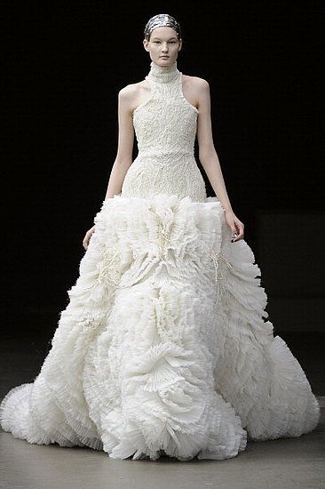 Fall 2011 Paris Fashion Week: Alexander McQueen 2011