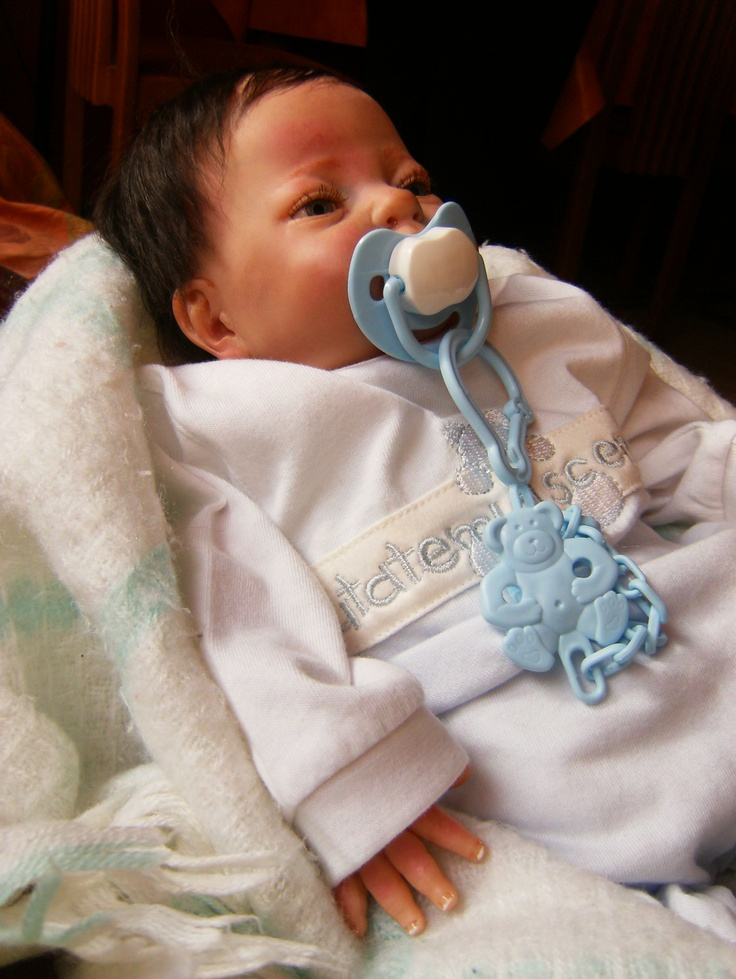 Cute Reborn Baby Doll Soft Silicone 18 Inch Handmade Baby: Reborn So Cute And Sweet Little Baby
