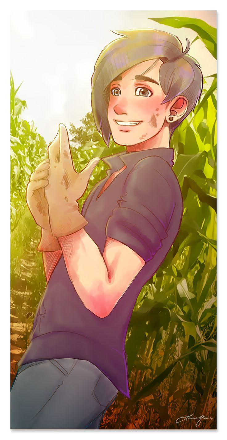 """nolan-doodles: """"  Farmer Seb """""""