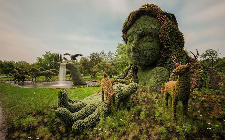 Stunning Plant Sculptures in the Montreal Mosaiculture Exhibition | DeMilked