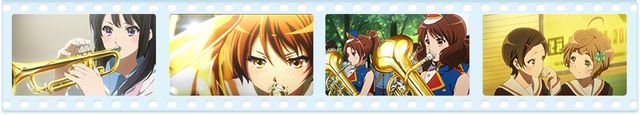 Yamaha is teaming up with 2015 TV anime Sound! Euphonium in a promotion designed to help beginners learn the basics of playing musical instruments, and the collaboration includes the publication of a book and a smart phone app geared toward those goals.