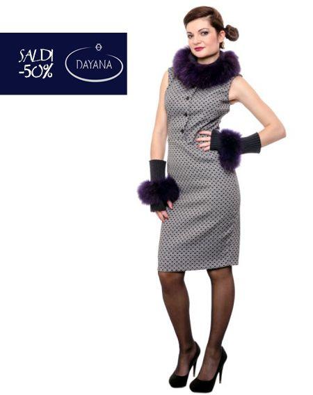 """TUBINO DAYANA MICROFANTASIA COLLEZIONE AI 2013/14 """"SALDI -50%""""  #fashion #moda #sale #saldi #shopping #fw #woman #madeitaly #curvy #casual  Tubino in tessuto stretch, Taglio in vita, Bottoni sul davanti, Smanicato, Lunghezza su ginocchio, Chiusura con zip laterale, Foderato, Made in Italy.  http://www.dayanaboutique.com/shop/it/abito/152-TUBINO-DAYANA-MICROFANTAS.html"""