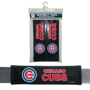 Chicago Cubs Seat Belt Pads Velour