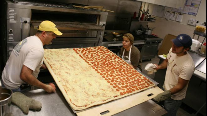 World's largest pizzas commercially available | Fox News