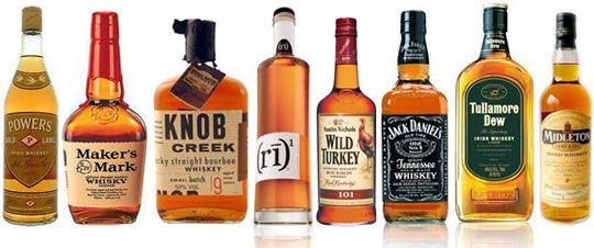 Markers Mark Knob Creek Wild Turkey Jack Daniels