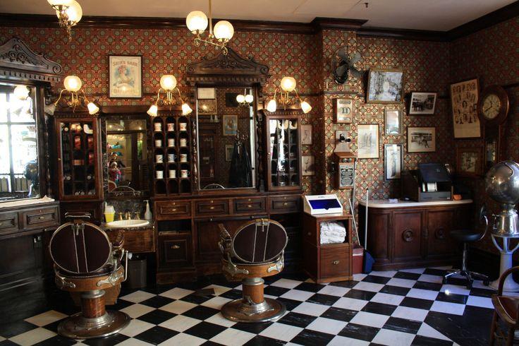 Vintage Barber Station For Men Barber Shop Pinterest