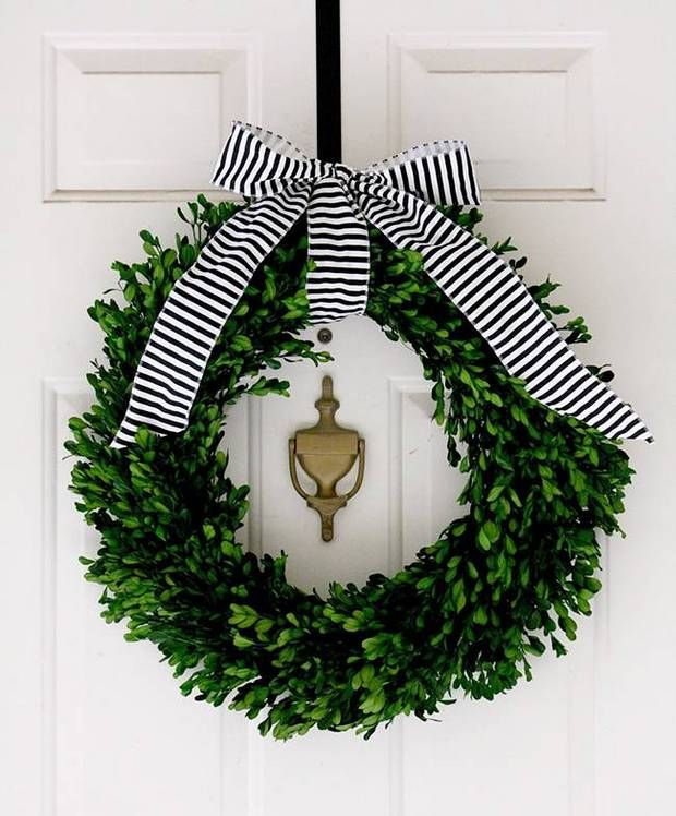 Christmas Wreaths For Double Front Doors: 17 Best Ideas About Double Door Wreaths On Pinterest