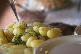 Aardappelsalade van Jamie Oliver met vinaigrette van dille, olijfolie en citroen