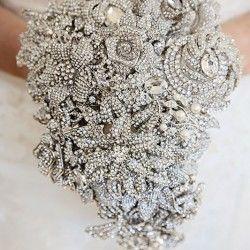 Diamante Crystal Bridal Brooch Bouquet Weddings Australia Bouquets For Indian Brides Sri Lankan Muslim