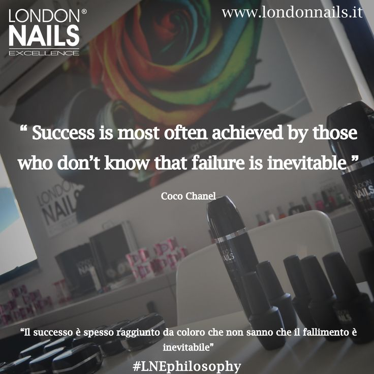 #quotes #london #nails #excellence #philosophy  www.londonnails.it
