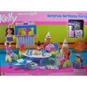 Barbie Kelly Surprise Birthday Party Playset (1999) I have some pieces to this set as well