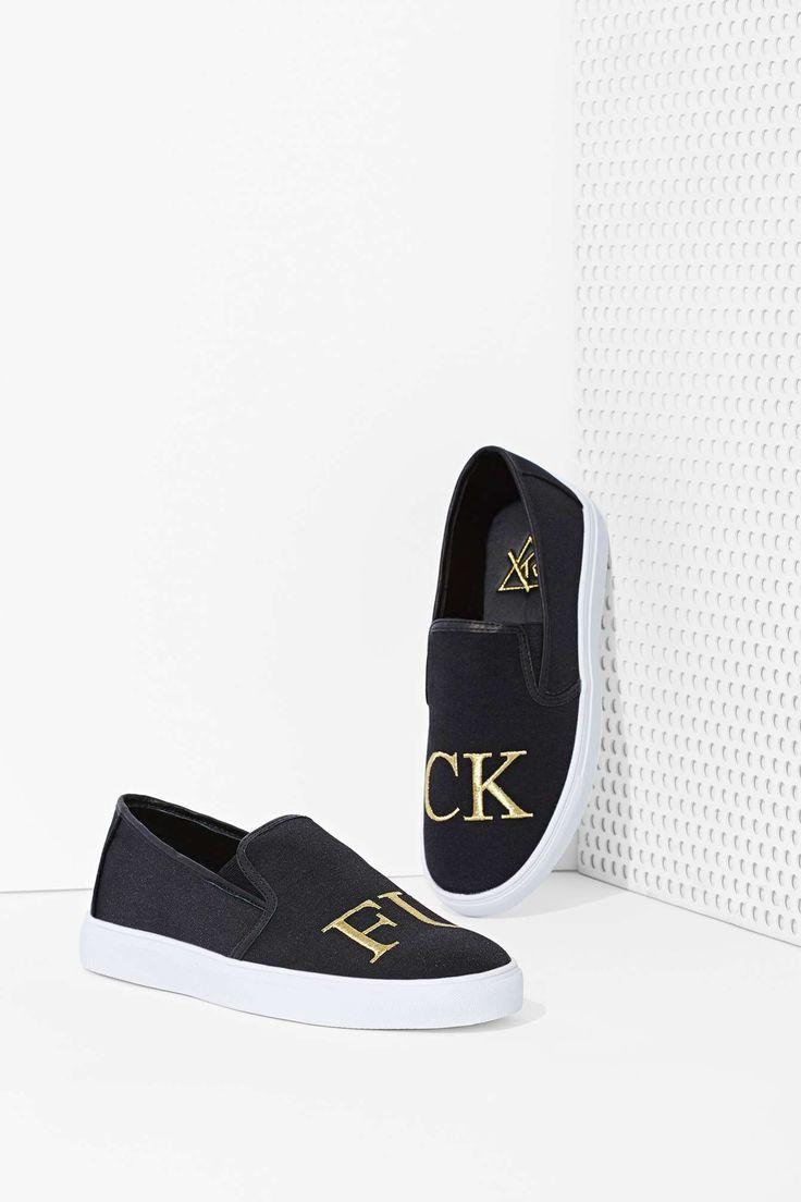 YRU FU Slip-On Sneaker