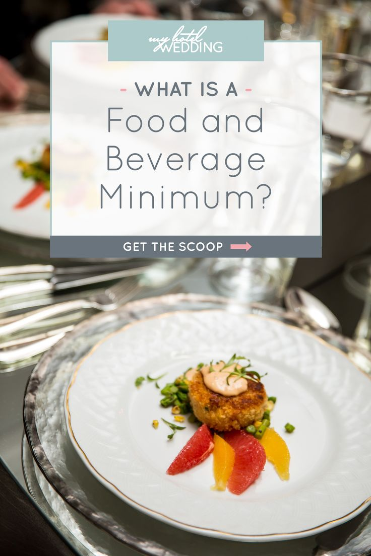 Simply put, a food & beverage minimum is specific dollar amount of food and beverage that you, the client, must meet to use the space. But that's not all you need to know...