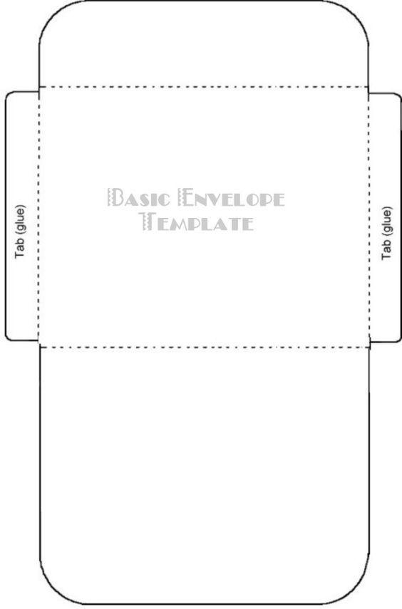 25+ unique Envelope templates ideas on Pinterest DIY stationery - sample 5x7 envelope template