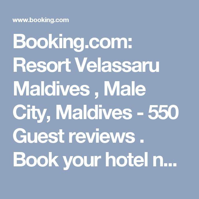 Booking.com: Resort Velassaru Maldives , Male City, Maldives - 550 Guest reviews . Book your hotel now!