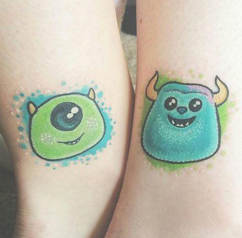 Disney tattoos – – #smalltattoos