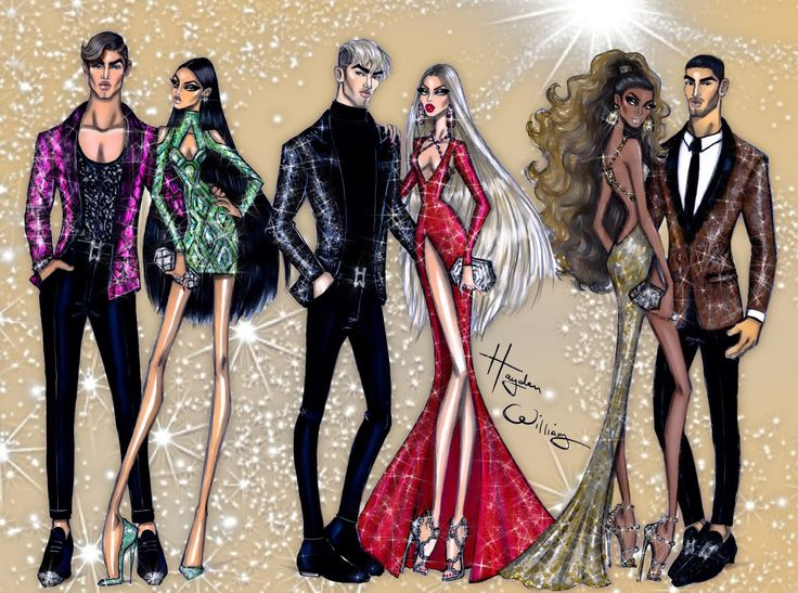 New Year Couture 2016 collection by Hayden Williams