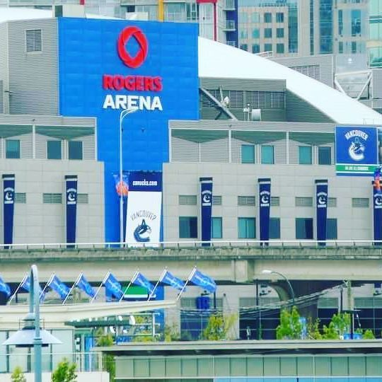 Rogers arena, Vancouver,  British Columbia.
