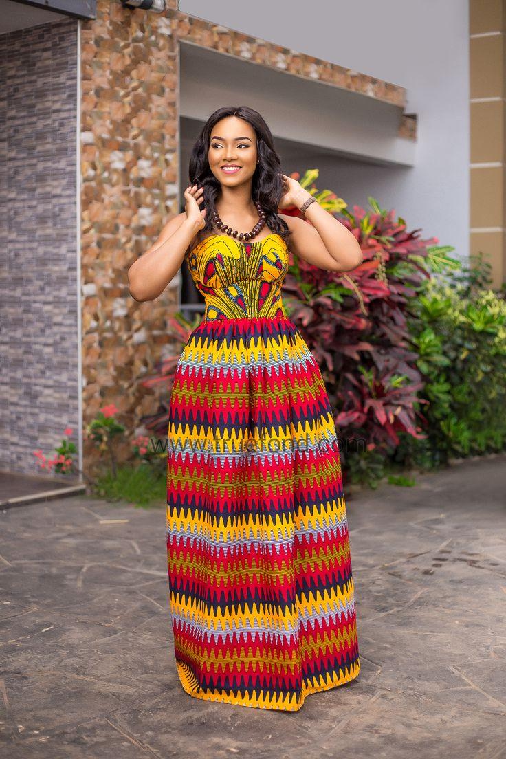 Katsina African maxi dress, African dress, ankara, kitenge, kente, Ghanaian fashion, Nigerian fashion, Ghanaian women, African clothing, ankara dress, kente