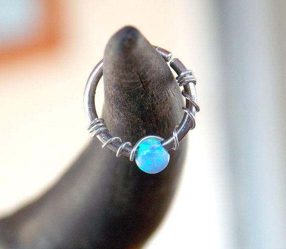 Argento orecchino cartilagine cerchio piccolo di sofisjewelryshop