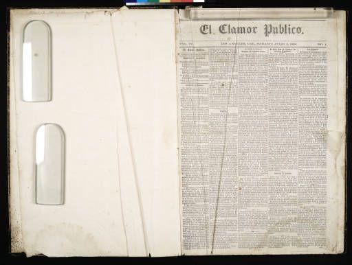 El Clamor Publico, vol. IV, no. 1, Julio 3 de 1858 :: El Clamor Publico Collection, 1855-1859