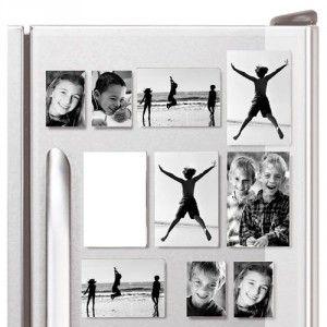 Cadeau Set de 10 Cadres Photos magnétiques