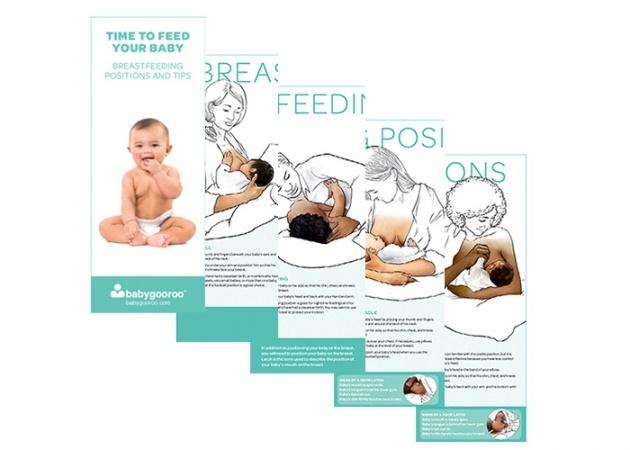 Breastfeeding Positions Brochure Breastfeeding Support