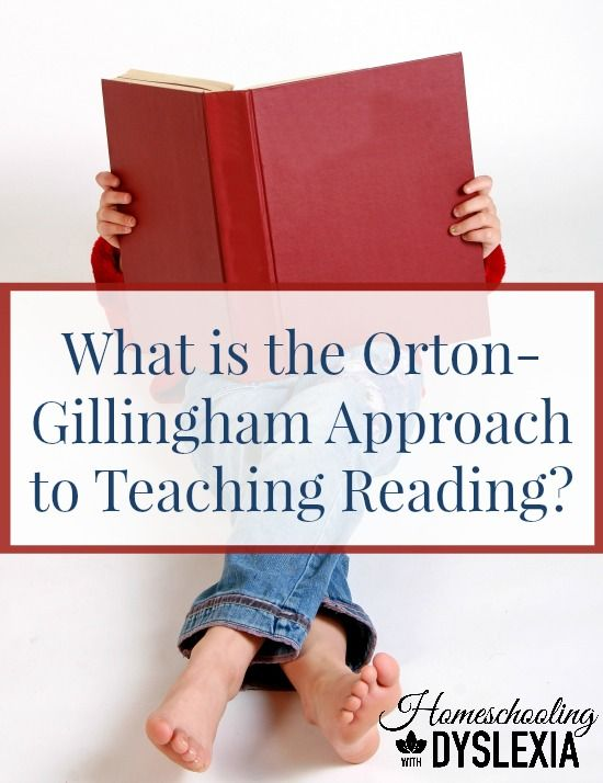 The Orton Gillingham has been proven to help people with dyslexia learn to read - even rewiring their brains to read like traditional readers!