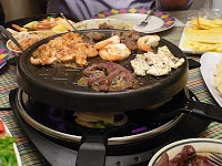 Raclette idea (now that I've ordered mine, I should start collecting ideas :) )