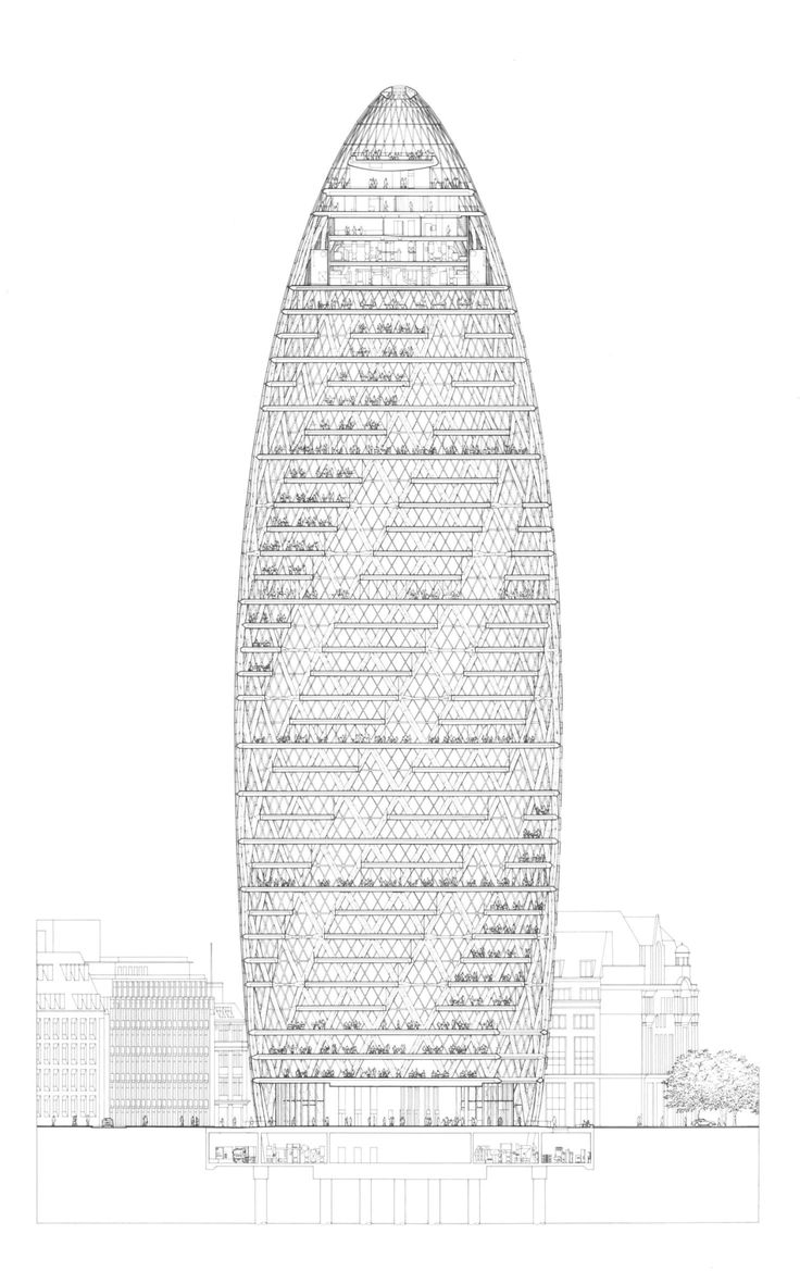 Foster + Partners, Nigel Young, Richard Bryant · Swiss Re HQ, 30 St Mary Axe