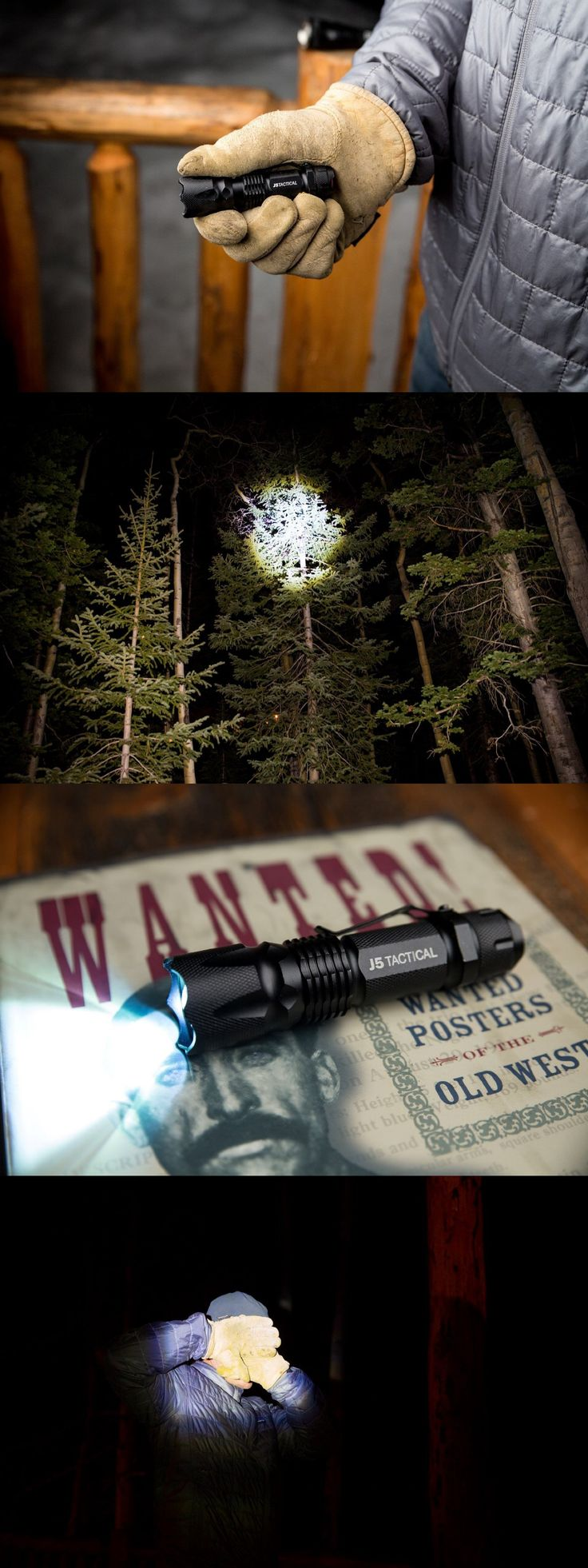 Awesome strobe mode on this flashlight that will confuse and disorient attackers. Great everyday safety flashlight and perfect for camping.