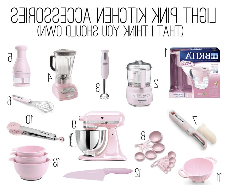 light pink kitchen utensils go to chinesefurnitureshop for from Pink Kitchen Appliances And Accessories