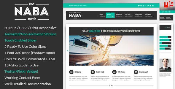 Naba: Multipurpose Business WordPress Theme