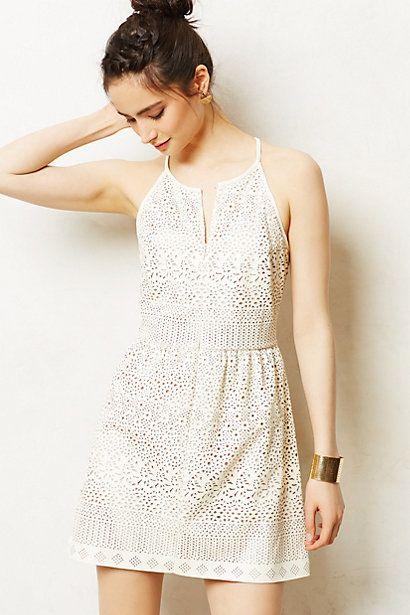 Vestido couro branco