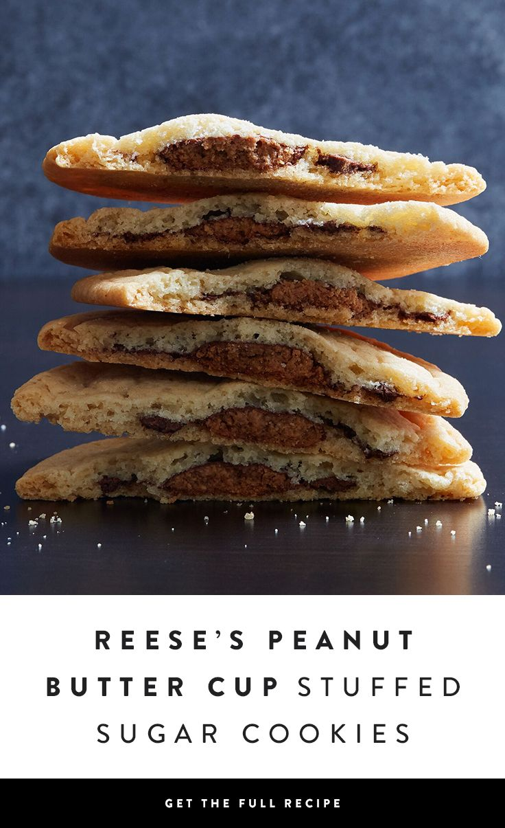 If we're being honest, sugar cookies aren't exactly the most exciting dessert. However, stuff them with an entire REESE'S Peanut Butter Cup and you've got our attention.