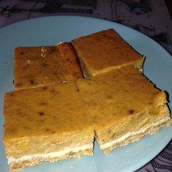 Perfect Pumpkin Cheesecake Bars - Allrecipes.com