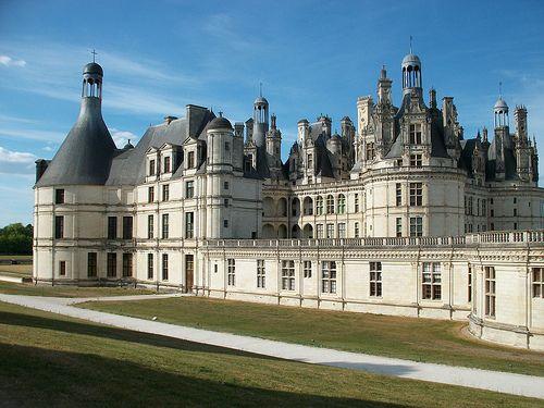 Schloss Chambord an der Loire