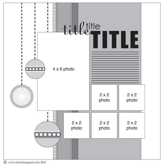 Check out the blog for beautiful layouts based on this sketch, and for more instructions.