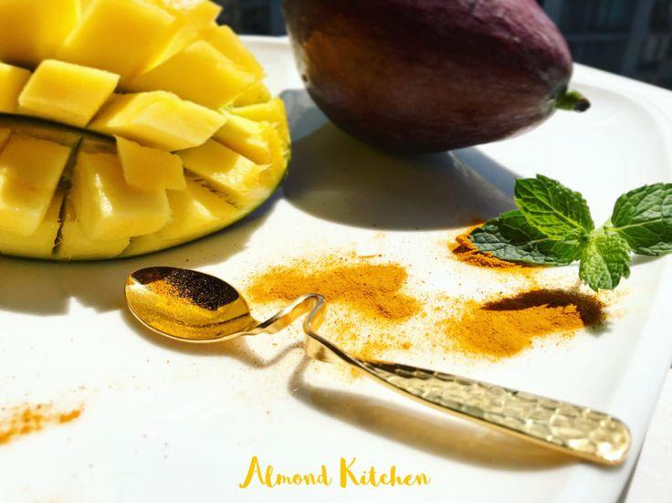 Mango lassi. #food #fit #recipies #healthy #easy #lunch #dinner #tasty #pyszne#kitchen #zdrowo #fit #life #love #foodporn #perfect #protein #eat #healthyfood #yummy #warsaw #foodpics #instagood #foodie #beautiful #happy #inspiration #almondkitchen #gotowanie #jedzenie #mango #lassi #smoothie