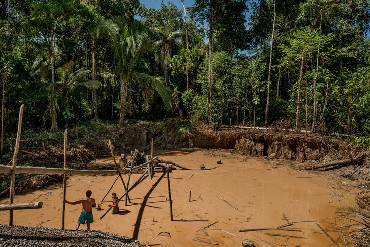 The San Jacinto community of Peru's Madre de Dios region has been designated for legal gold mining by the government but many people are still awaiting formal approval.