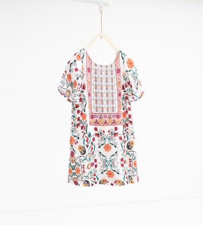 Floral dress-View All-DRESSES AND JUMPSUITS-GIRL | 4-14 years-KIDS | ZARA United States