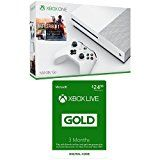 #10: Xbox One S 500GB Battlefield Bundle  3-month Xbox Live Card