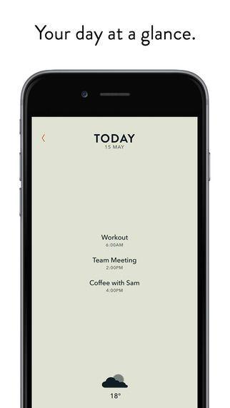 ミニマリスト用カレンダーアプリ紹介Minimalist Calendar Apps - The New Appointment App from 'Moleskine' Boasts a Sophistical Design (GALLERY)