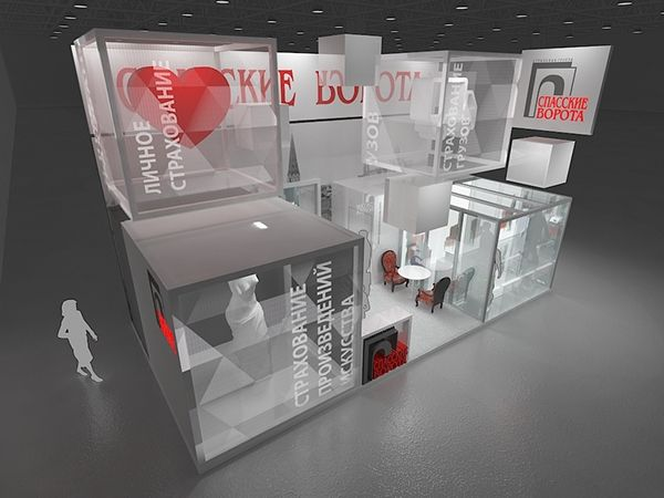 Дизайн выставочного стенда для компании спасские ворота