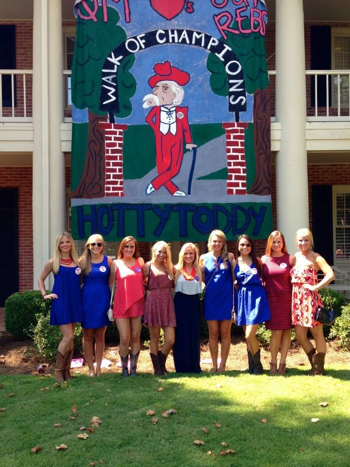 Phi Mu Ole Miss Game Day! #Gorebs #Olemiss #PhiMu #Banner #Gameday @Phi Mu @ Ole Miss