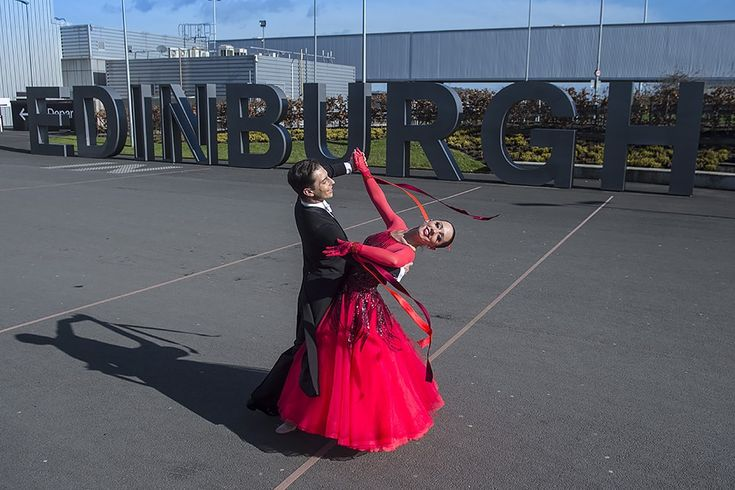 Strictly Edinburgh and then Glasgow Airport  Strictly speaking, it's been a long day, an early start at Edinburgh Airport with my client and the Scottish Ballroom Dance champions.   #airport #edinburgh #strictly