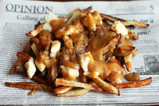Vegetarian Poutine | 30 Yummy Vegetarian Takes On Classic Meat Dishes