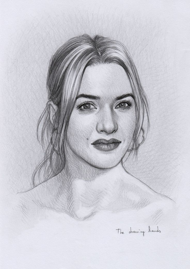 Kate Winslet by thedrawinghands on deviantART ~ pencil portrait