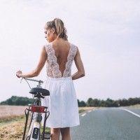 Lorafolk robe de mariee courte dos nu dentelle Bonie l La Fiancee du Panda blog mariage-1