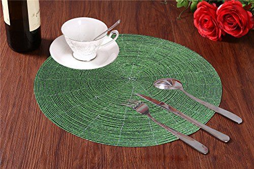 Inspirational Placemats On Round Tables